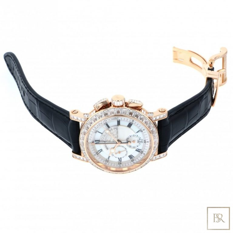 Watch BREGUET Marine Chronograph 43MM 18K rose gold United Arab Emirates for sale For Super Rich