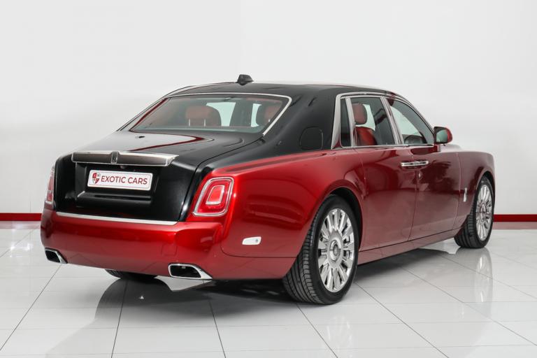 2019 Rolls-Royce PHANTOM Black + Red for sale For Super Rich