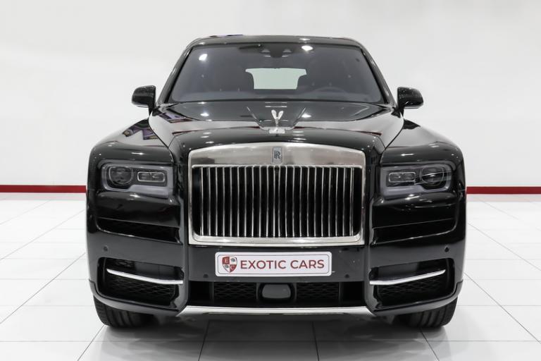 2019 Rolls-Royce CULLINAN Black for sale For Super Rich