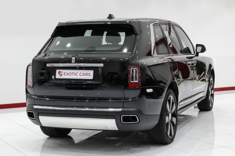 2019 Rolls-Royce CULLINAN V12 6.7L for sale For Super Rich