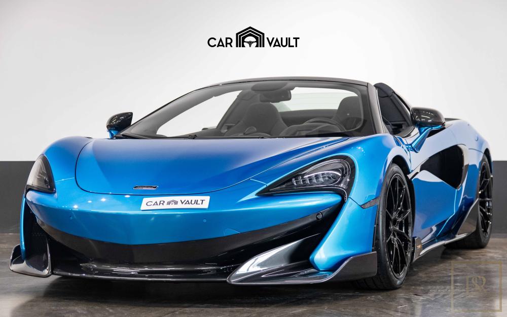 2020 McLaren 600LT Spider for sale For Super Rich