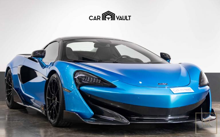 2020 McLaren 600LT Spider Bleu for sale For Super Rich