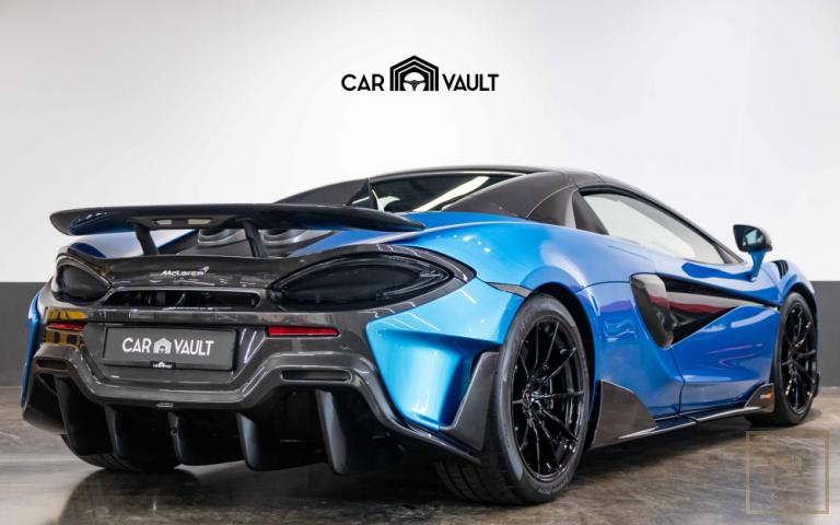 2020 McLaren 600LT Spider V8 3.8 Litre for sale For Super Rich