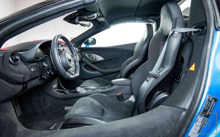 2020 McLaren 600LT Spider interior for sale For Super Rich