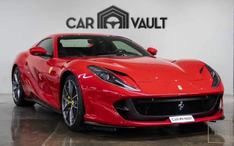2020 Ferrari 812 GTS Red for sale For Super Rich