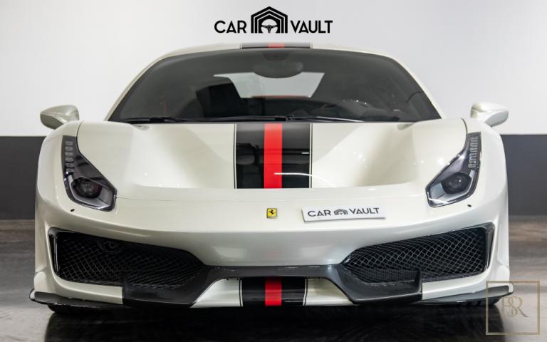 2020 Ferrari 488 Pista Black Alcantara for sale For Super Rich