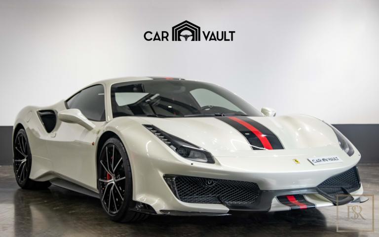2020 Ferrari 488 Pista White/Red for sale For Super Rich