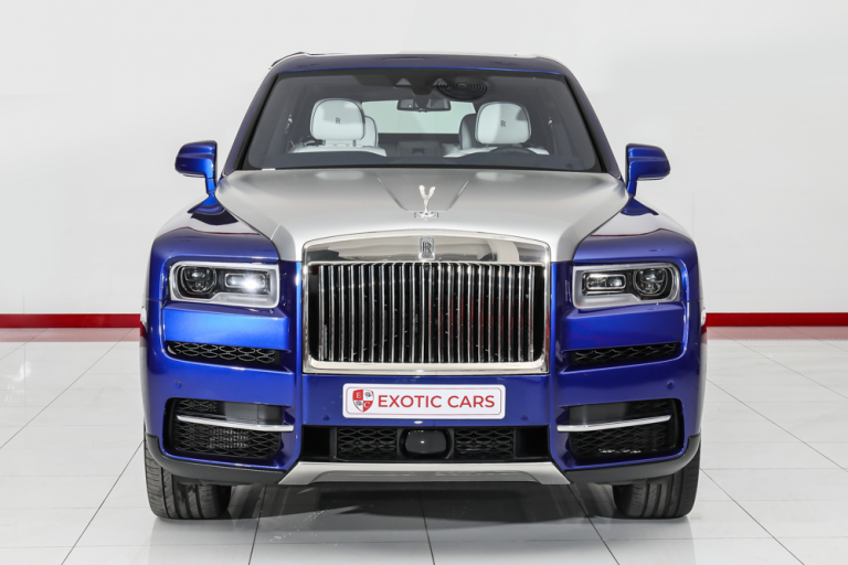 2019 Rolls-Royce CULLINAN Blue for sale For Super Rich