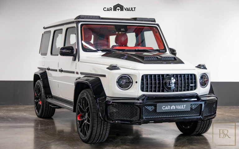 2020 Mercedes Brabus White for sale For Super Rich