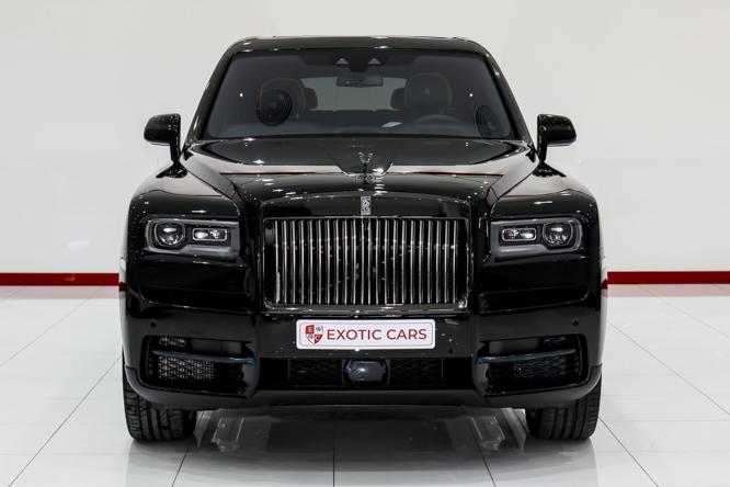 2020 Rolls-Royce CULLINAN Black for sale For Super Rich