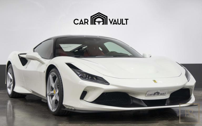2020 Ferrari F8 Tributo White for sale For Super Rich