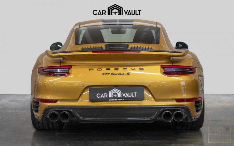 2018 Porsche 911 Turbo S Black for sale For Super Rich