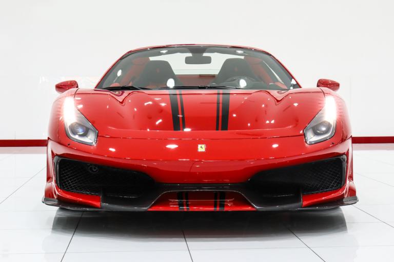 2020 Ferrari 488 Pista Red for sale For Super Rich