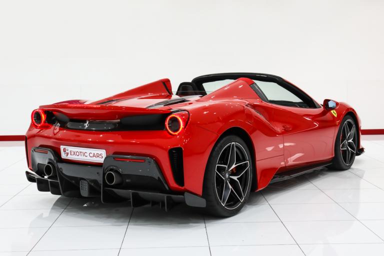 2020 Ferrari 488 Pista Black + Red for sale For Super Rich