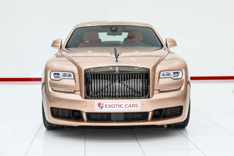 2019 Rolls-Royce GHOST Rose Gold for sale For Super Rich