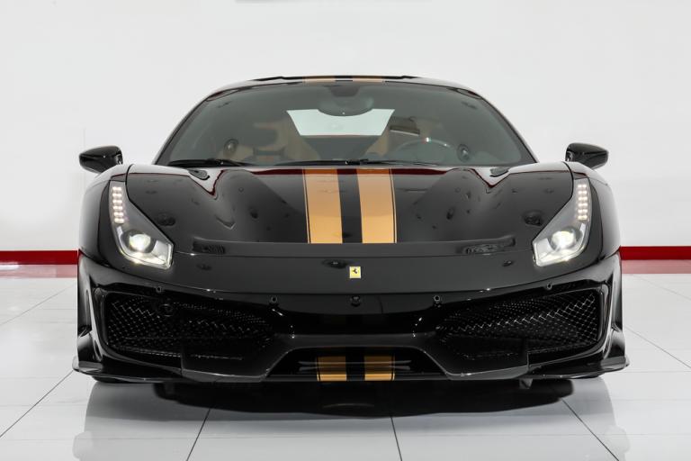 2020 Ferrari 488 Pista Black for sale For Super Rich