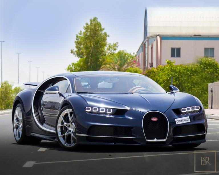 2018 Bugatti CHIRON Bleu for sale For Super Rich