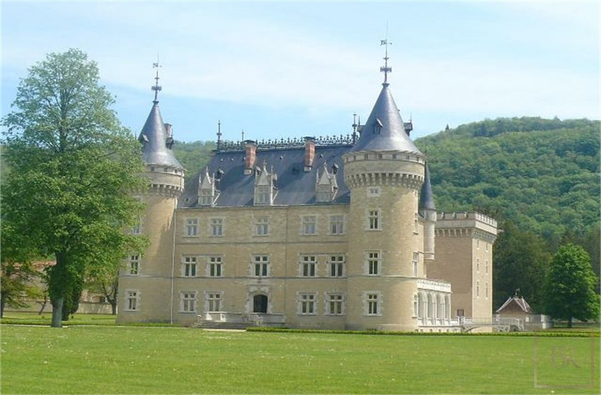 French Castle XIV Century - Near Geneva, Area Franche-Comté for sale For Super Rich