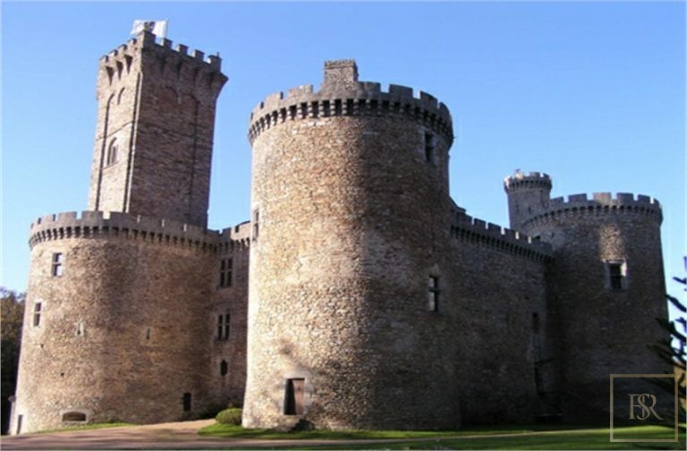 French Castle XII Century - Limoges, Area Limousin available for sale For Super Rich