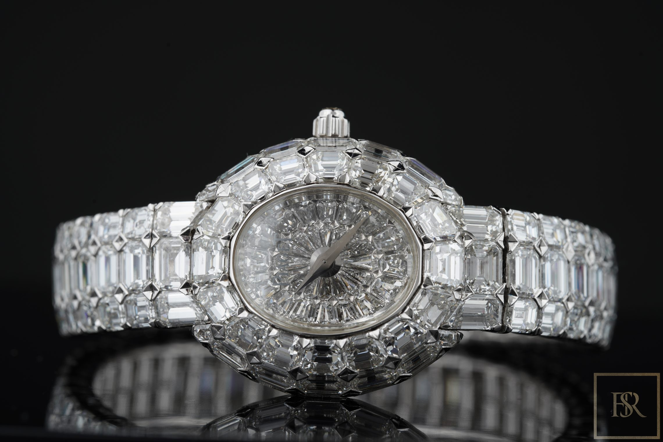 Watch PIAGET Limelight Gala 18k White Gold Diamond Unique Piece 1/1 for sale For Super Rich