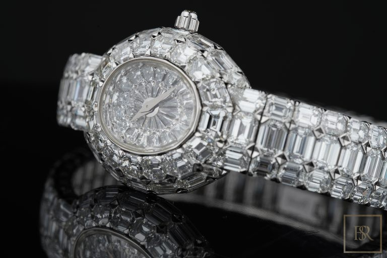 Watch PIAGET Limelight Gala 18k White Gold Diamond Unique Piece 1/1 Unique for sale For Super Rich
