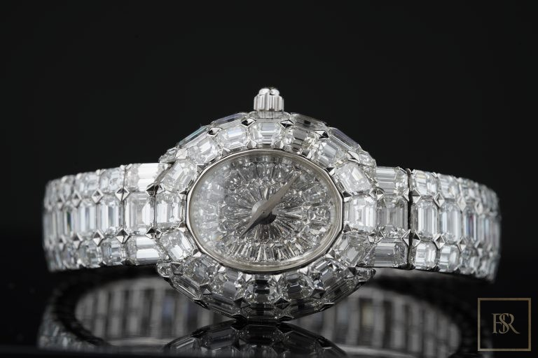 Watch, Piaget Limelight Gala 18k White Gold Diamond Unique Piece 1/1