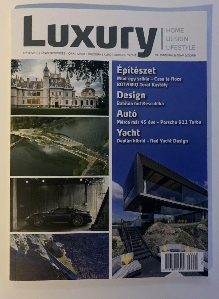 N1 Luxury magazine in Hungary Luxury-Magazin.hu September 2020