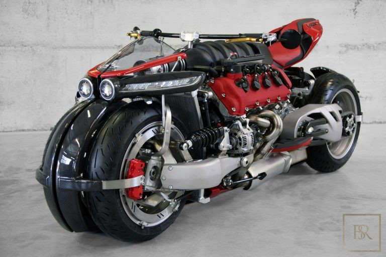 Limited Edition 1 OF 10 Motorcycle LM 847 - LAZARETH Unique for sale For Super Rich