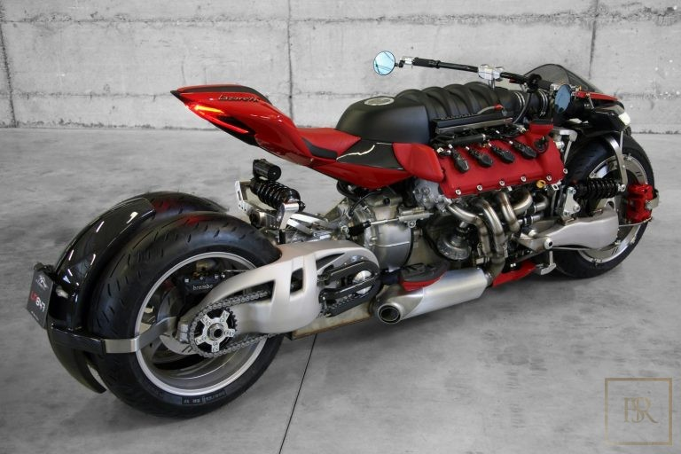 Limited Edition 1 OF 10 Motorcycle LM 847 - LAZARETH ultra luxury for sale For Super Rich