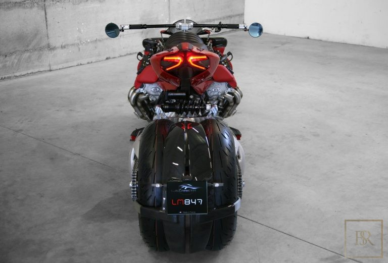 Limited Edition 1 OF 10 Motorcycle LM 847 - LAZARETH for sale For Super Rich