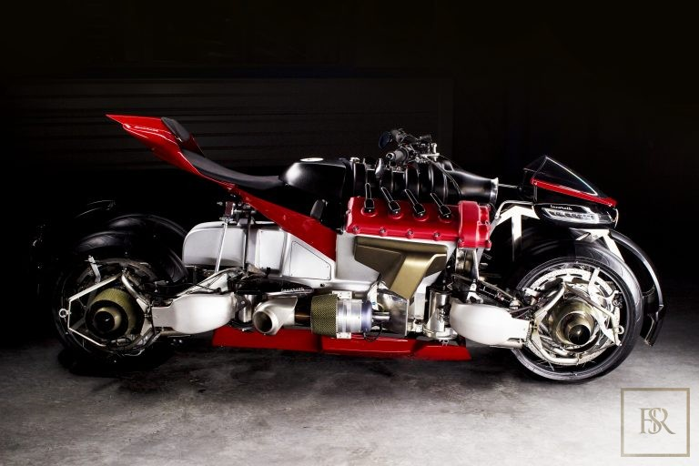 UNIQUE 1 OF 5 The Flying Motorcycle LMV 496 - LAZARETH for sale For Super Rich