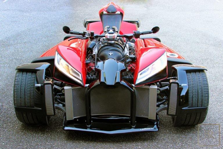 Collection, Motorcycle WAZUMA V8M LAZARETH