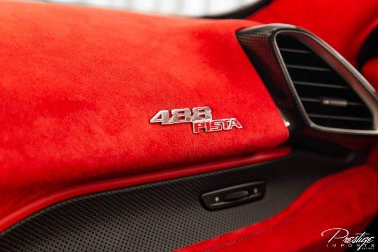 2019 Ferrari 488 Pista luxury for sale For Super Rich