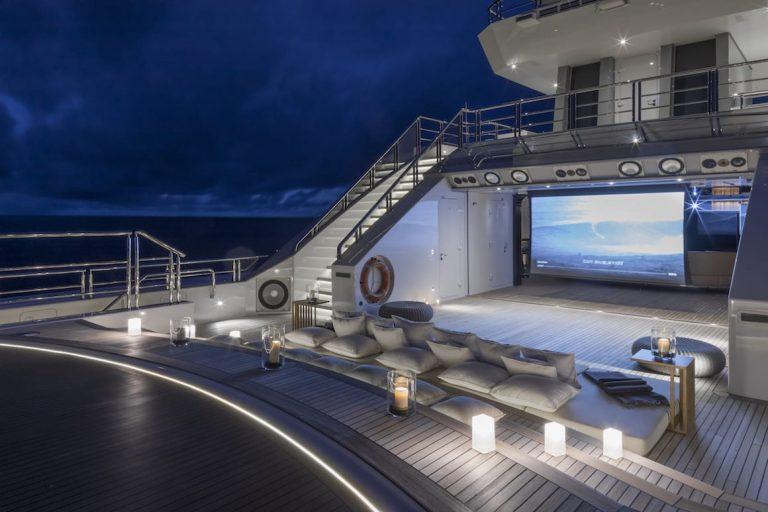 ABEKING & RASMUSSEN CLOUDBREAK 75 Meters ultimate charter rental For Super Rich
