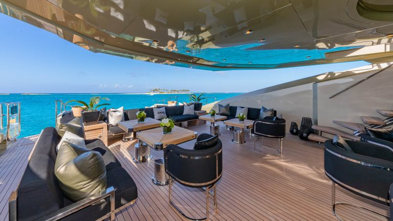 PALMER JOHNSON DB9 52 Meters family office charter rental For Super Rich