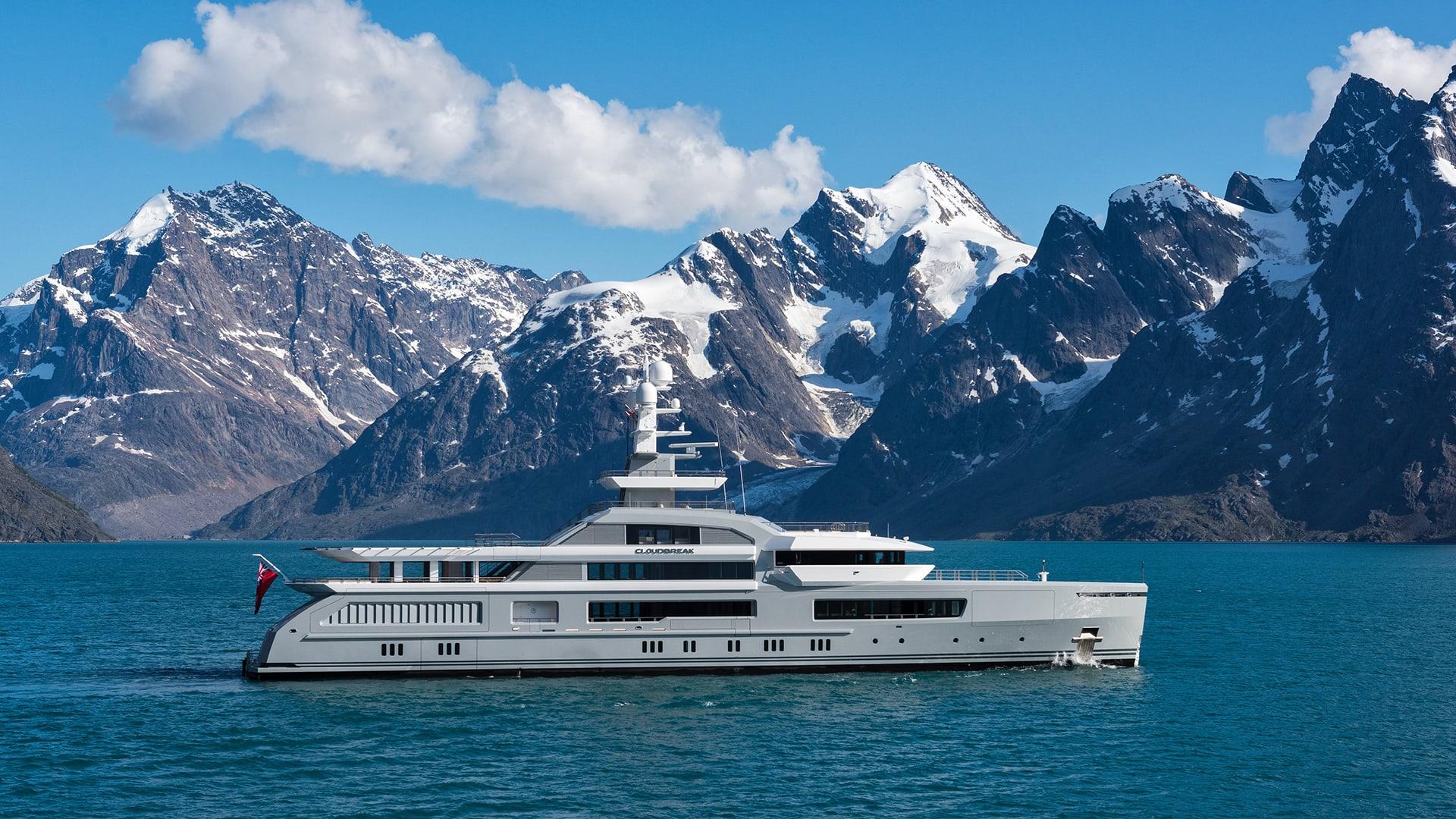 ABEKING & RASMUSSEN CLOUDBREAK 75 Meters charter rental For Super Rich