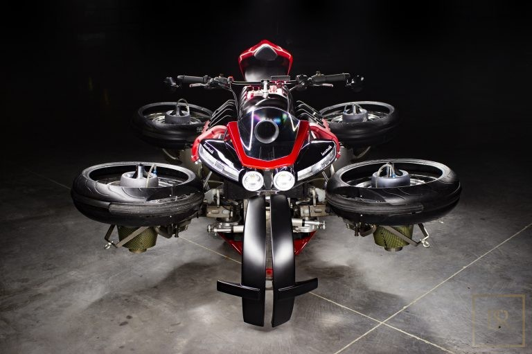 UNIQUE 1 OF 5 The Flying Motorcycle LMV 496 - LAZARETH 575000 for sale For Super Rich