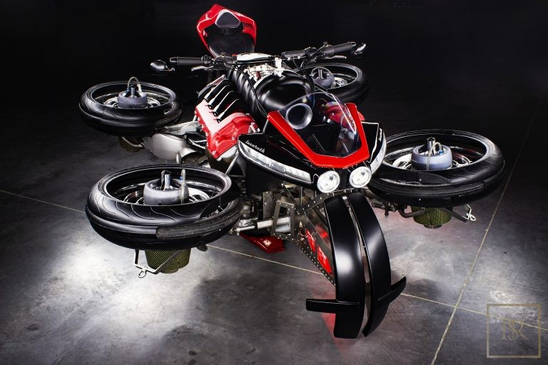 UNIQUE 1 OF 5 The Flying Motorcycle LMV 496 - LAZARETH France for sale For Super Rich