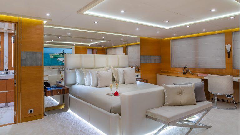 PALMER JOHNSON DB9 52 Meters VIP charter rental For Super Rich