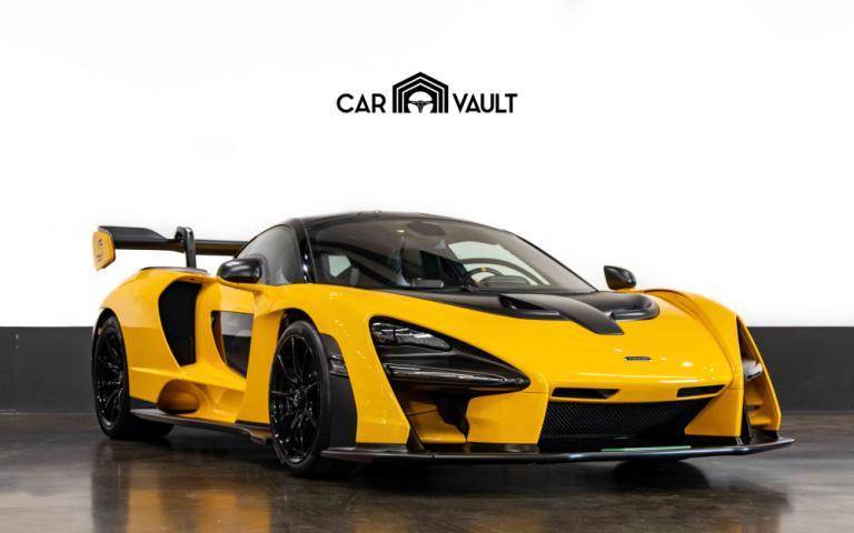 2019 McLaren Senna Alcantara Black for sale For Super Rich