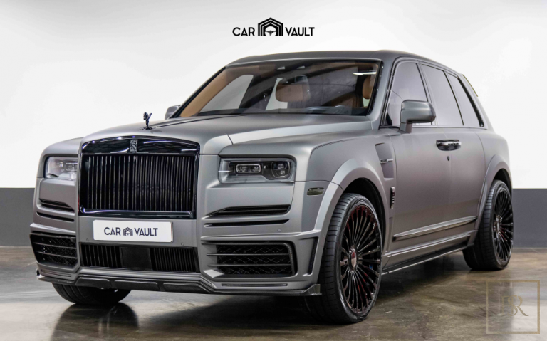2019 Rolls-Royce CULLINAN Matte Grey for sale For Super Rich