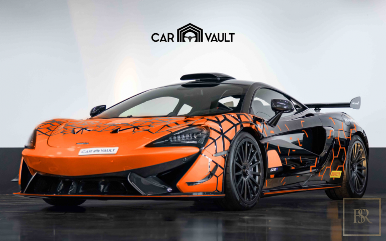 2020 McLaren 620R GT Level Black/Orange for sale For Super Rich