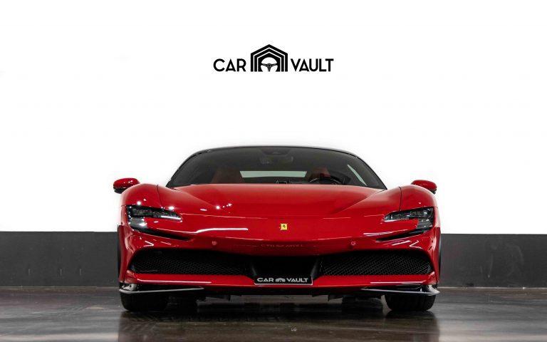 2021 Ferrari SF90 STRADALE Red Leather for sale For Super Rich