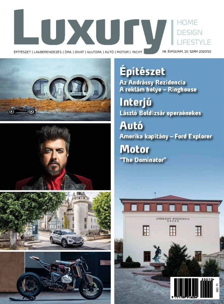 """October 2020 - Publication ForSuperRich.com """"AHTON Dragon Giberg"""" with our partner media Luxury Magazine Hungary"""