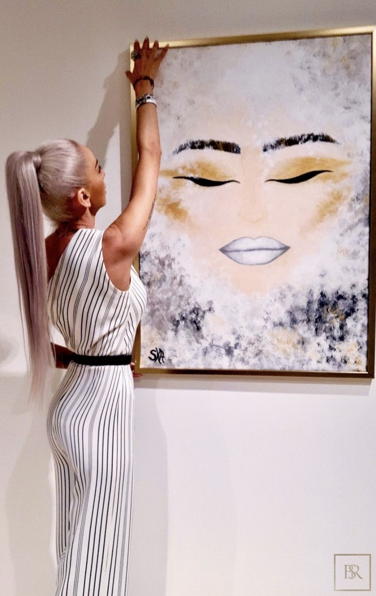 Painting Devotion to Purity - ANDREEA SORESCU Romania for sale For Super Rich