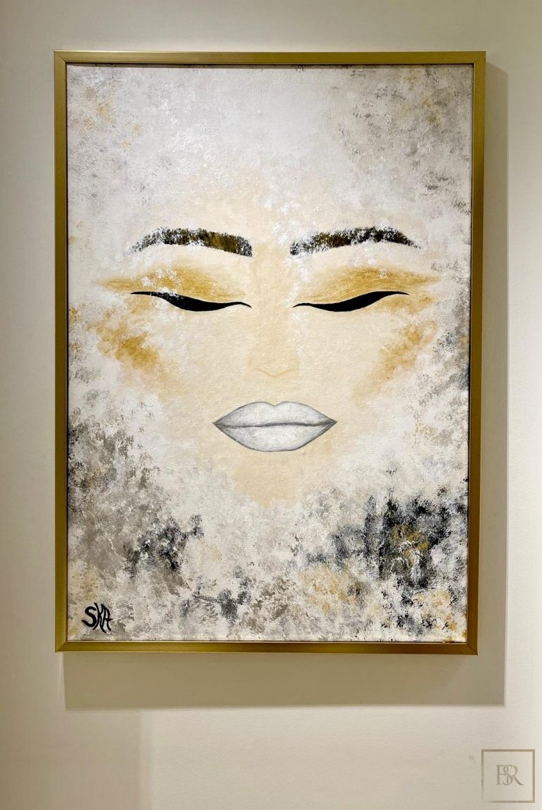Painting Devotion to Purity - ANDREEA SORESCU Unique for sale For Super Rich