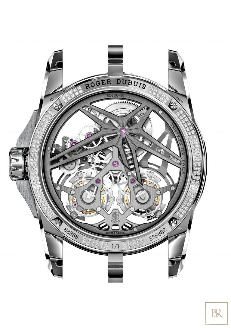 Watch ROGER DUBUIS Excalibur SUPERBIA Limited Edition 1 Luxury for sale For Super Rich