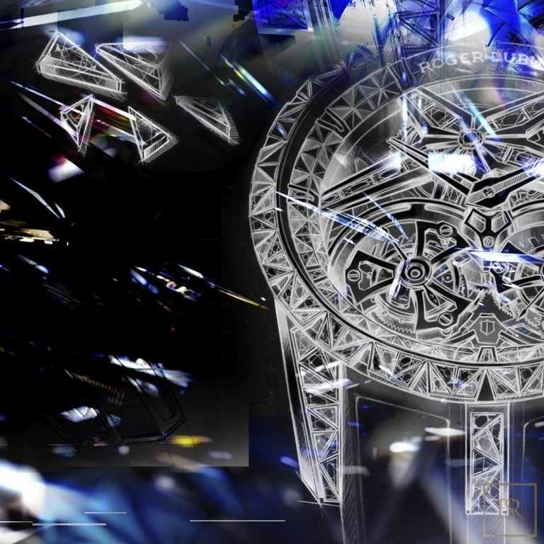 Watch ROGER DUBUIS Excalibur SUPERBIA Limited Edition 1 854500 for sale For Super Rich