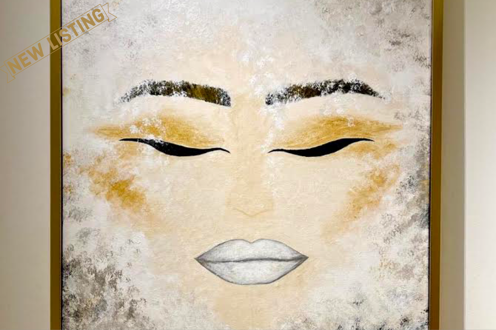Painting Devotion to Purity - ANDREEA SORESCU for sale For Super Rich