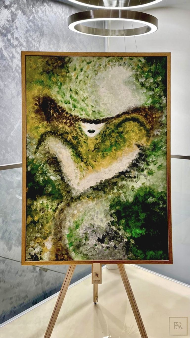 Painting Fascination of the Bourgeoisie - ANDREEA SORESCU Romania for sale For Super Rich
